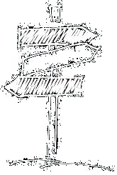 Wegkreuzung aus dem Jahrbuch von Christina König Seite 47